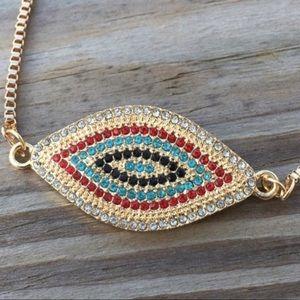 Jewelry - Crystal Evil Eye Protection Bracelet